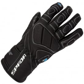 SPADA BURNOUT GLOVES BLACK