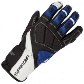 SPADA BURNOUT GLOVES BLACK/WHITE/BLUE