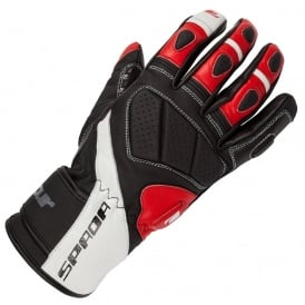 SPADA BURNOUT GLOVES BLACK/WHITE/RED