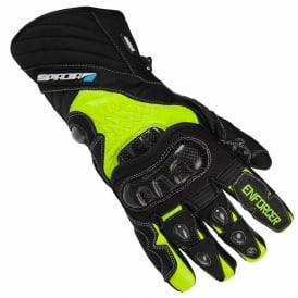 SPADA ENFORCER WP GLOVES BLACK/FLUO