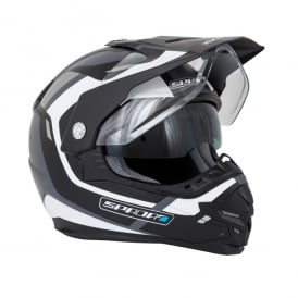 Spada Helmet Intrepid Beam Matt Black/White/Silver