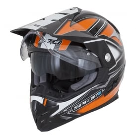 Spada Helmet Intrepid Mirage Black/Orange/White