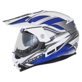 Spada Helmet Intrepid Mirage White/Blue/Black