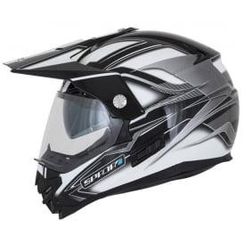 Spada Helmet Intrepid Mirage White/Grey/Black