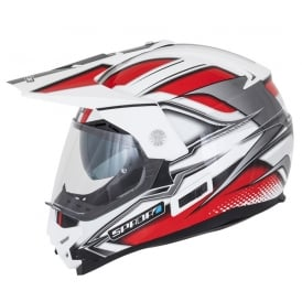 Spada Helmet Intrepid Mirage White/Red/Black