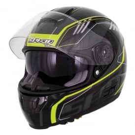 Spada Helmet SP16 Gradient Black/Fluo