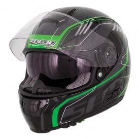 Spada Helmet SP16 Gradient Black/Green