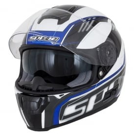 Spada Helmet SP16 Gradient White/Blue