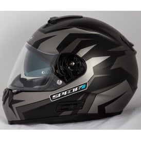 Spada Helmet SP16 Voltor Matt Black/Silver/Anthracite