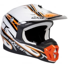 Spada Helmet Violator Hawk White/Orange