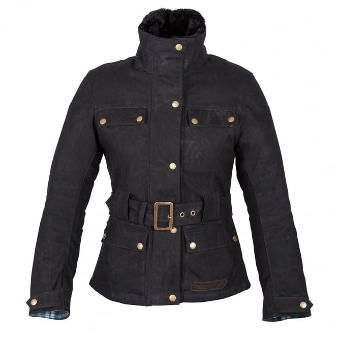 Spada Ladies Textile Jacket Hartbury Black