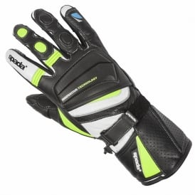 SPADA LATOUR SUMMER GLOVES BLACK/FLUO