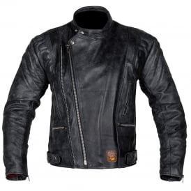 Spada Leather Jacket Road Black