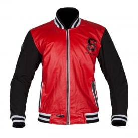 Spada Leather Jackets Campus Red/Black