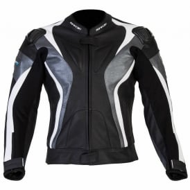 Spada Leather Jackets Curve Black/Grey/White