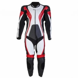 Spada Leather Suit 1 piece Curve Black/Red/White