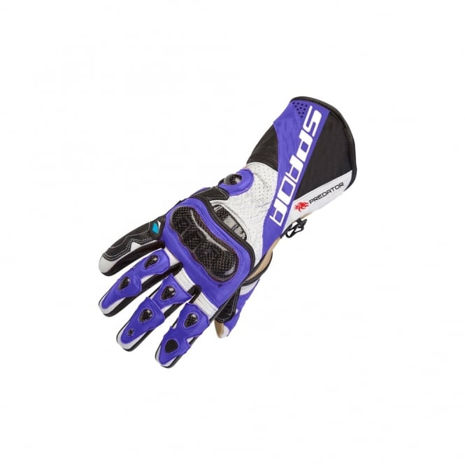Spada PREDATOR II GLOVES BLACK/BLUE