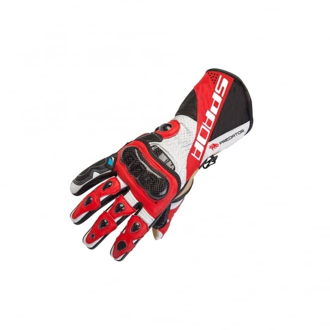 Spada PREDATOR II GLOVES BLACK/RED