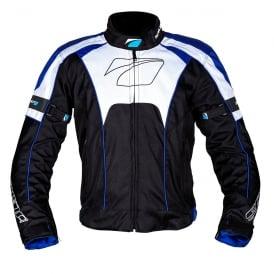 Spada Textile Jacket Burnout Blk/Blue/White