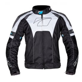 Spada Textile Jacket Burnout Blk/Grey/White