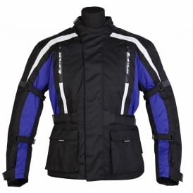 Spada Textile Jacket Core Black/Blue