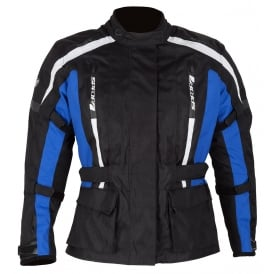 Spada Textile Jacket Core Ladies Black/Blue
