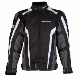Spada Textile Jacket Corsa GP WP Blk/Grey/White