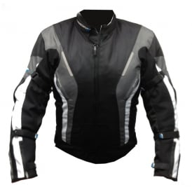 Spada Textile Jacket Curve WP Blk/Grey/White