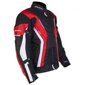 Spada Textile Jacket Curve WP Blk/Red/White