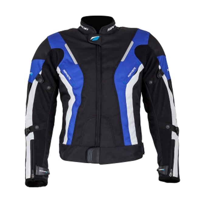 Spada Textile Jacket Curve WP Ladies Black/Blue