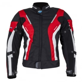 Spada Textile Jacket Curve WP Ladies Black/Red