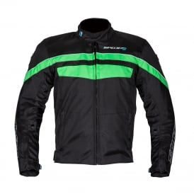 Spada Textile Jacket Energy 2 Black/Green