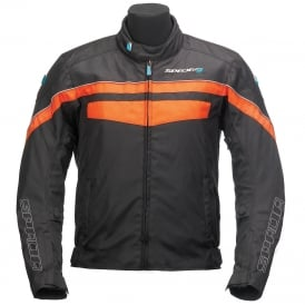 Spada Textile Jacket Energy 2 Black/Orange