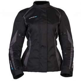 Spada Textile Jacket Planet Ladies Black/Grey