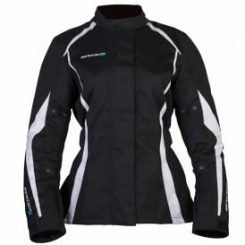 Spada Textile Jacket Planet Ladies Black/White