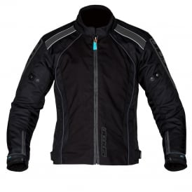 Spada Textile Jacket Plaza WP Black/Gun