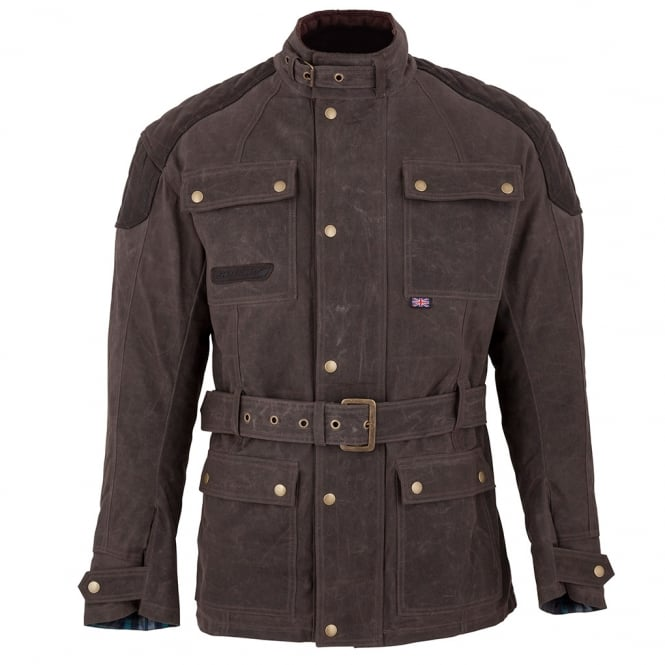 Spada Textile Jacket Staffy Brown