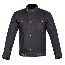 Spada Textile Jacket Union Wax Black
