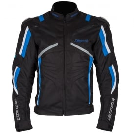 Spada Textile Jacket X-Sport WP Black/Blue/White