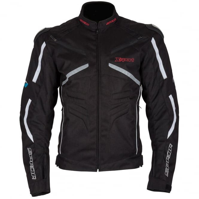 Spada Textile Jacket X-Sport WP Black/Grey/White