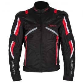 Spada Textile Jacket X-Sport WP Black/Red/White