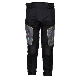 Spada Textile Trousers Air Pro 2 Black/Silver/Fluo