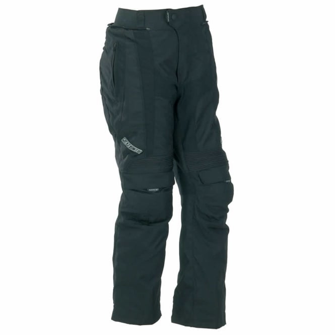 Spada Textile Trousers Duo Tech Black Short/Std Leg