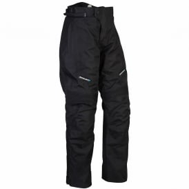 Spada Textile Trousers Milan-Tex Black Short Leg