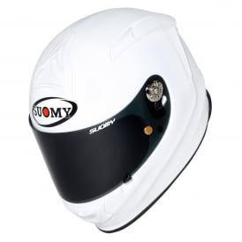 Suomy SR Sports Plain White