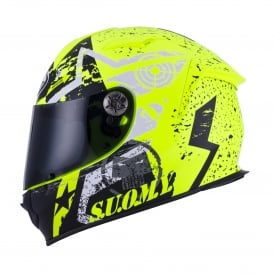 Suomy SR Sports Stars Yellow Fluo
