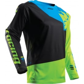 Fuse jersey S17 Pinin black / lime XX-large
