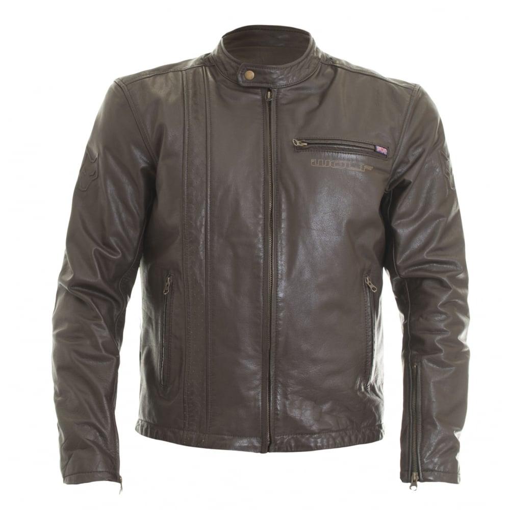 Wolf 2410 Spirit M Leather Jacket Motorcycle Clothing